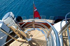 75.5m Motor Yacht Anastasia with exterior & interior Designer Sam Sorgiovanni.