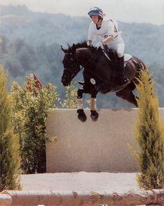 Jill Walton & Patrona at the 1992 Barcelona Olympics (JCW photo)