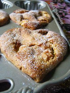 Bez Pszenicy: Imbirowe babeczki z jabłkiem (kukurydziane, bezglu...