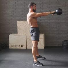 Kettlebell workout routines are great for losing weight fast. Full body kettlebell workout that is absolutely killer and at the end of the workout you will Fitness Workouts, Fitness Gym, Muscle Fitness, Physical Fitness, Mens Fitness, At Home Workouts, Fitness Tips, Fitness Motivation, Workout Routines