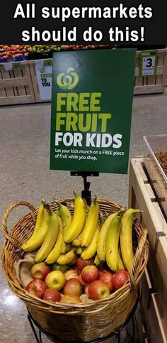 All supermarkets should do this!