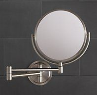 Option 1-FINAL SELECTION.    here is a left wall ext. mirror that is simple and will go nicely with your master facet, Spritz Extension Mirror | Extension & Tabletop Mirrors | Restoration Hardware