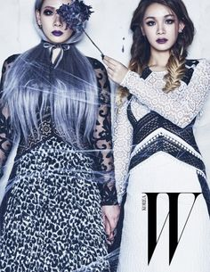 CL and her sister for W Korea Magazine