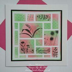 Wildflowers by Stamps By Me  #stampsbyme #dtsample #wildflowers #flowers #silhouette #mondian #stencil #distressoxides #stamps #cardmaking #craft #creative #ilovetocraft #creativity #karenzkardz