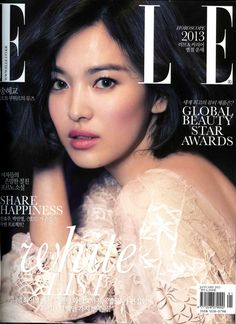 Song Hye Kyo ELLE couverture