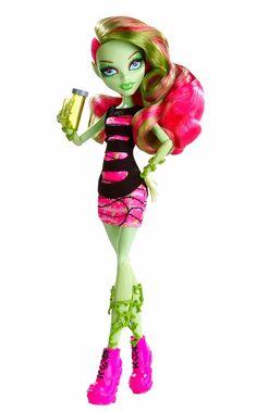 "Monster High, Coffin Bean - Venus McFlytrap fashion doll. Монстр * Монстер Хай, кукла Венера МакФлайтрап из серии ""Коффин Бин"""
