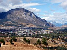 coyhaique chile | scenic plateau on the side of a mountain overlooking coyhaique chile