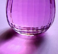 Two of my favorite things in one item--glass and the color purple!