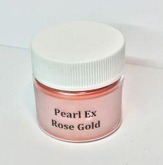 Pearl Ex Mica Pigment Powder Rose Gold 6 grams