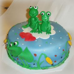 frogs cake