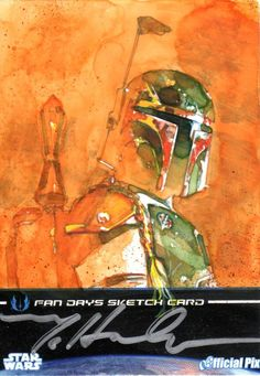 Star Wars Fan Days III Sketch Card.