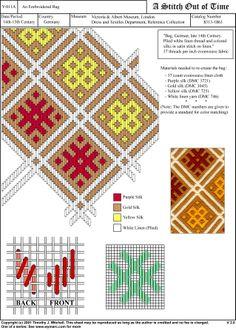 german renaissance brick stitch