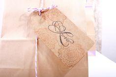 20 Stück, Geschenkanhänger, Anhänger, Papier, Kraftpapier, Natur, DIY, Etikett, basteln, Geschenk, Weihnachten, Geburtstag, Hochzeit von Pompompous auf Etsy