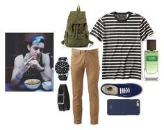 """""""Ethan Day #1"""" by newbourn on Polyvore featuring Banana Republic, Dockers, Vans, HUGO, Native Union, men's fashion, menswear, teen, teenager and teenboy"""