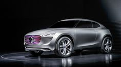 German car manufacturer Mercedes-Benz has debuted a new concept for a hydrogen-powered SUV with multivoltaic paint.