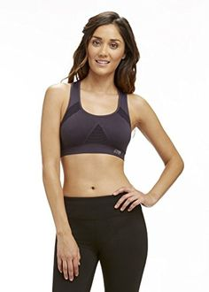 6eaa106388 Marika Tek Womens Seamless Mesh Sports Bra XLarge Carbon     You can get  additional details at the image link.