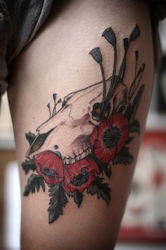 bones + flowers. alice carrier. portland, oregon.