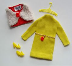 1969 Barbie - Important Investment ('V' Yellow Coat) #1482