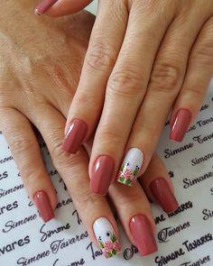 Pin by jj neha on nails Marble Nail Designs, Nail Art Designs, Fabulous Nails, Perfect Nails, Manicure And Pedicure, Gel Nails, Kathy Nails, Ongles Forts, Tumblr Nail Art