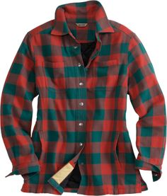 Women's Flapjack Flannel Shirt Jac - Duluth Trading