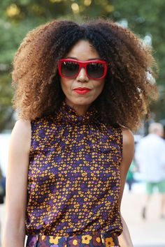 Blown-out-natural-curls-