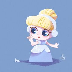 Anime Disney Princess, Baby Disney Characters, Disney Princess Cartoons, Disney Princess Pictures, Disney Princess Drawings, Disney Pictures, Kawaii Disney, Draw Disney, Chibi Disney