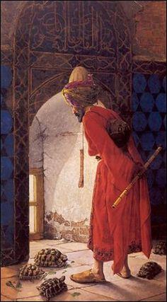 Osman Hamdi Bey - Kaplunbağa Terbiyecisi