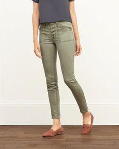 Womens Pants Bottoms | Abercrombie.com
