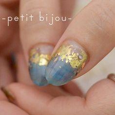 風景石 #ネイル #ネイルアート #作品 #instanailart #instanails #instagood #petitbijou_nail #nail…