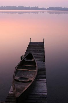 reminds me of the old wooden dock at our lake cabin which has been replaced with a fancy metal dock. Sometimes, old is best!