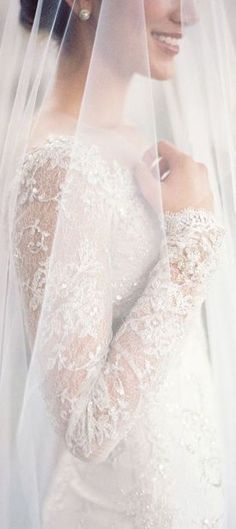 Useful guide for veils but I also love the dress! FAQs: How to Select the Perfect Bridal Veil for Your Wedding Dress - Jose Villa Photography Wedding Dress With Veil, Wedding Veils, Wedding Attire, Wedding Dresses, Simple Wedding Veil, Bridesmaid Dresses, Formal Dresses, Mod Wedding, Dream Wedding
