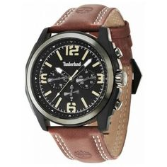 Timberland - Mens Brattleboro Brown Leather Chrono Watch - - RRP - Our Price c596d3ff407