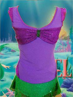 Ariel Running Costume Top