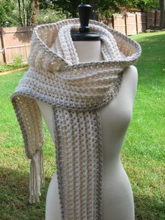 Ultra Plush Nordic Hooded Scarves  hooded by nutsaboutknitting, $62.00