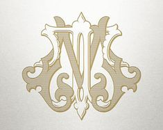 Shuler Studio offers a premier gallery of finely crafted monograms for print and embroidery. Vintage Logo Design, Vintage Monogram, Vintage Designs, Logo Vintage, Vintage Hats, Monogram Wedding, Monogram Logo, Wedding Monograms, Fraternity Collection