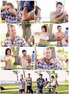 #hawaii five 0 #mcdanno #scott caan #alex o'loughlin #teeeeeeeeam #so apparently…