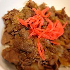 ザックリ男の料理  味はなかなか\(^o^)/ - 17件のもぐもぐ - 牛丼 by imaoVrQ