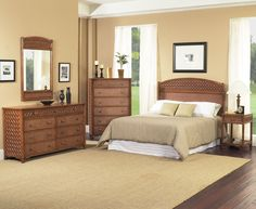 Monte Carlo 7180 Rattan And Wicker Bedroom Set From Clic Modern Furniture