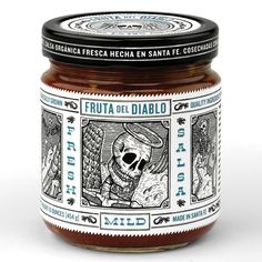 Fruta Del Diablo Salsa Packaging | Moxie Sozo Design + Advertising