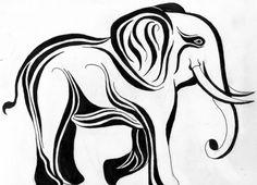 Google Image Result for http://www.deviantart.com/download/135906973/Tribal_Elephant__original__by_Lagarto26.jpg