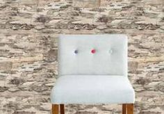 Wall Mural Birch Bark (source Eijffinger) Fabric Wallpaper Australia / The Ivory Tower Wood Effect Wallpaper, Fabric Wallpaper, Birch Bark, Floor Chair, Wall Murals, Accent Chairs, New Homes, Stairs, Cushions