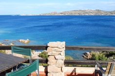 View from the terrace of the house in La Maddalena #Sardinia
