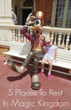 Walt Disney World can take its toll on your feet especially through the Summer months when the weather is hot. Here are 5 places to rest in Magic Kingdom