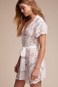 BHLDN Bridal Robe