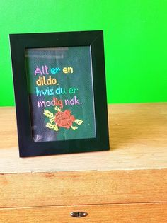 Rest, Av, Cross Stitch, Embroidery, Humor, Sewing, Crochet, Frame, Picture Frame