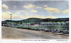 Green and White Tourist Camp, Cranbrook, BC, circa 1930