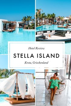 Stella Island Luxury Resort & Spa, Kreta At the end of August 2017 we stayed in Crete for a week Pet Resort, Resort Spa, Hotels And Resorts, Best Hotels, Luxury Hotels, Villa Luxury, Hotel Grecia, Lanai Island, Vacation Places