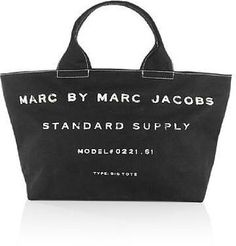 Marc by Marc Jacobs Black Big Tote
