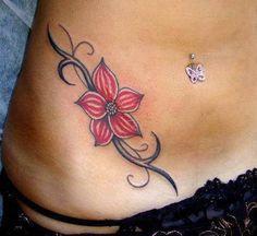 Flower waist side