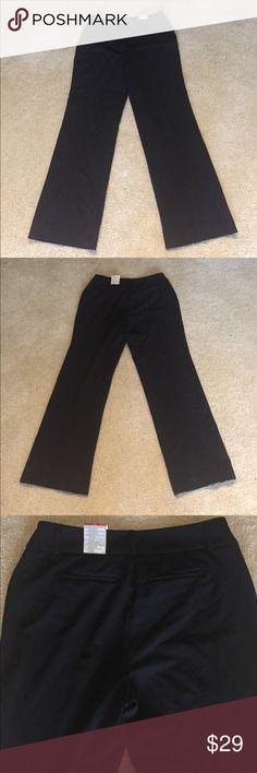 Alfani Curvy Fit Black Pants Long length inseam 34 inches, new with tags Alfani Pants